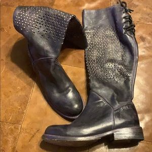 Bed Stu Cambridge Perforated Tall boots